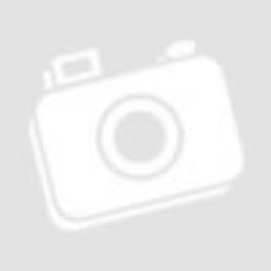 vidaXL fekete plüss és műbőr kutyakanapé 81 x 43 x 31 cm